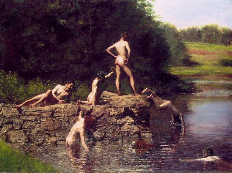 Eakins bathers