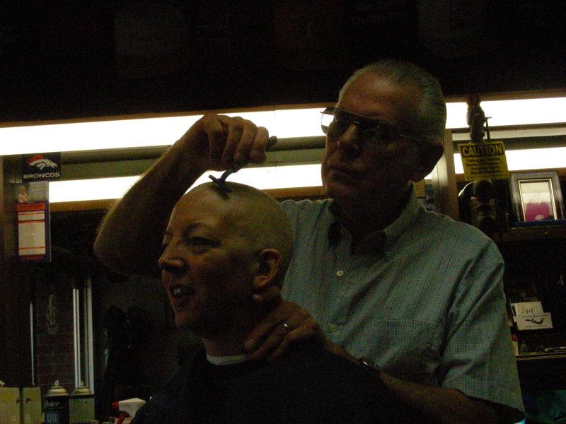 Ethie's barber trip 009