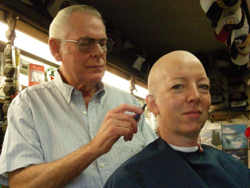 Ethie's barber trip 012