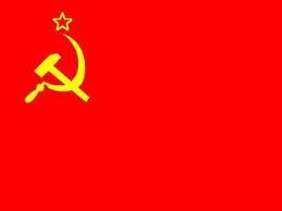 Red russian flag