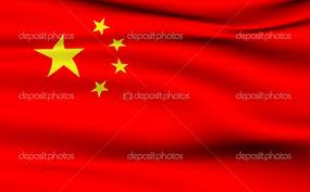 Red china flag